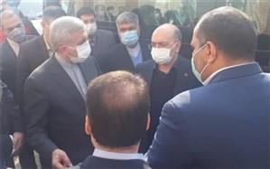بازدید وزیر نیرو از تصفیه خانه فاضلاب فیروز بهرام شهرستان اسلامشهر