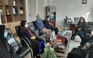 برگزاری نشست  با موضوع برنامههای دهه فجر در معاونت پرورشی آموزش و پرورش ملارد