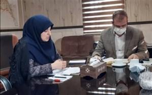 برگزاری وبینار آموزشی مدیریت بحران کرونا  ناحیه دو شهر ری