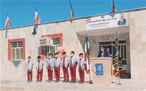 مدرسه 6 کلاسه شهید سلیمانی در روستای بنارو چابهار افتتاح شد