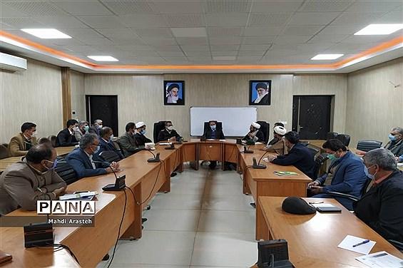 جلسه ستاد گرامیداشت دهه فجر و سالگرد پیروزی انقلاب اسلامی درشهرستان خوسف استان خراسان جنوبی