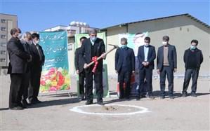 کلنگ احداث سالن تخصصی ورزشی ویژه دانشآموزان استثنایی در اصفهان به زمین زده شد