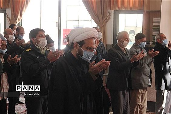 برگزاری بیست ونهمین نمازجمعه سال1399درشهرستان خوسف