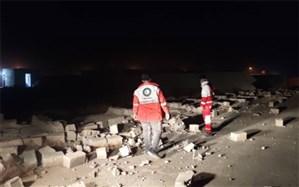اسکان اضطراری 120 زلزلهزده هرمزگان؛ 30 دستگاه چادر امدادی برپا شد