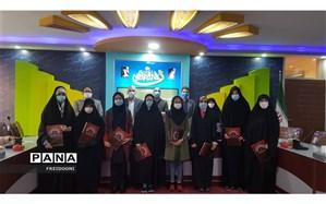 تجلیل از برگزیدگان ممتاز قرآنی منطقه 4 شهر تهران