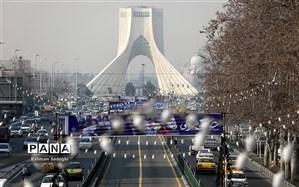 تهرانیها در ماه گذشته چند روز هوای پاک تنفس کردند؟