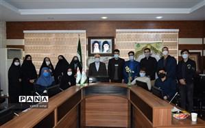 برگزاری اولین جلسه هیئت رئیسه مجلس دانش آموزی