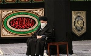 برگزاری آخرین شب مراسم عزاداری حضرت فاطمهزهرا با حضور رهبر انقلاب