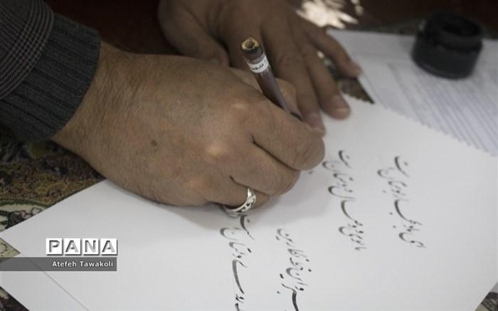 برگزاری جشنواره هنرهای دستی و تجسمی دانش آموزان آباده
