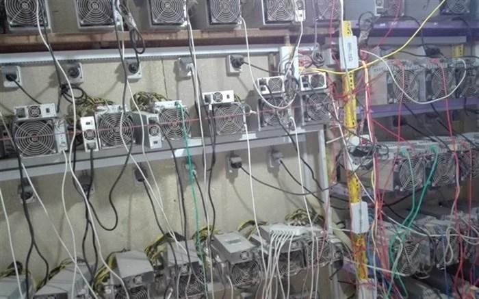 جمعآوری ۱۲۵ دستگاه استخراج بیت کوین در اهواز
