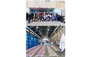 توزیع ۱۳۱ بسته آموزشی، فرهنگی و بهداشتی به دانش آموزان محروم شهرستان زبرخان