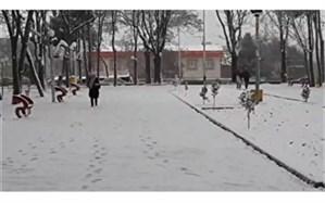 بارش باران و برف در مناطق مختلف آذربایجان شرقی