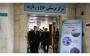 تاکید رئیس سازمان حج و زیارت بر سلامتی زائران