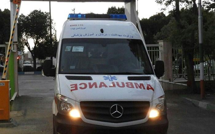 برخورد اتوبوس با دیواره زیرگذر در تبریز ۲۰ مصدوم برجا گذاشت