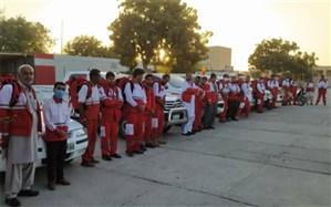مانور عملیاتی «لحظه صفر زلزله» در چابهار برگزار شد