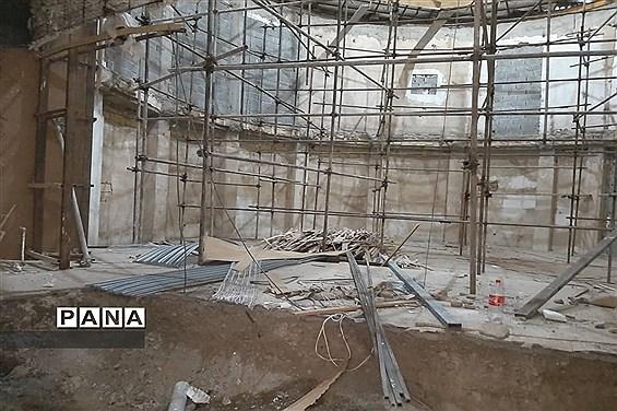 تعمیر و بازسازی فرهنگسرای بعثت در صفادشت ملارد