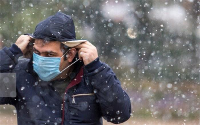 نقش برف و سرما در انتقال کرونا/ مردم خودشان را خوب بپوشانند