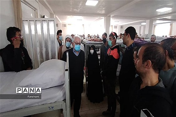 بازدید معاونت پیشگیری کشوراز اولین مرکز اقامتی، بهبودی معتادین متجاهر(زخم باز) در کشور در ورامین