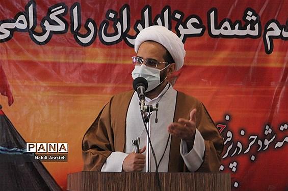 برگزاری سی امین نمازجمعه سال1399درشهرستان خوسف