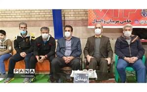 آموزش و پرورش منطقه 4 شهر تهران میزبان مسابقات والیبال دانش آموزی شد