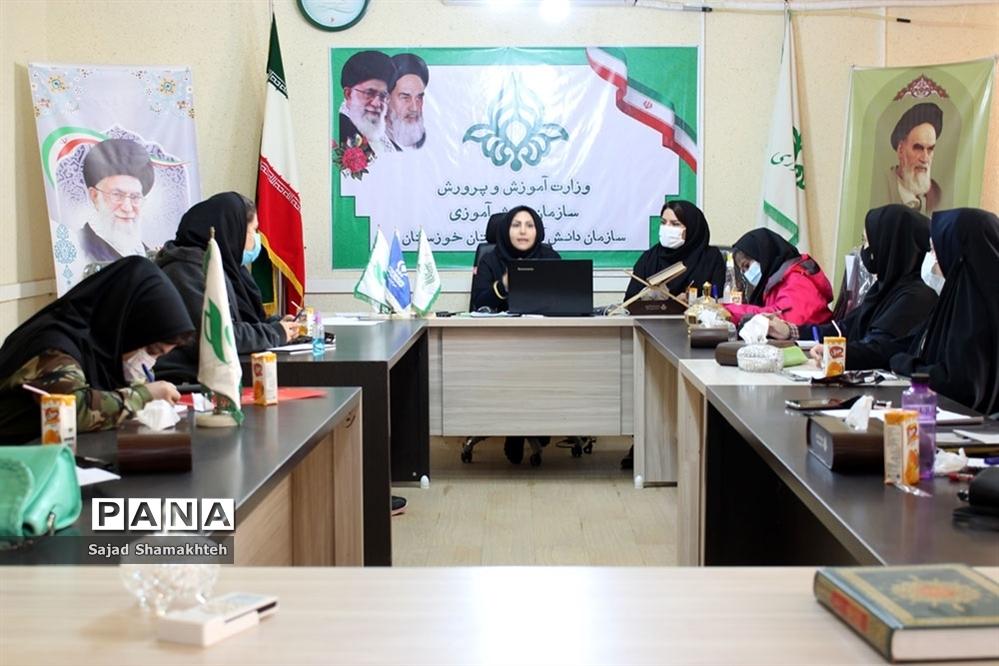 نخستین روز دوره آموزش خبرنگاران دختر پانا  خوزستان