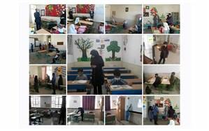 حال و هوای دانشآموزان استان قزوین در نخستین روز بازگشایی مدارس