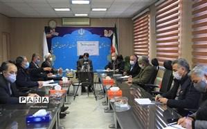 جلسه همکاری و هماهنگی ستاد بازسازی عتبات عالیات فرهنگیان استان برگزار شد