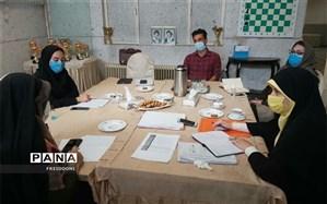 برگزاری جلسه هماهنگی تحلیل داده های طرح کوچ در منطقه 4