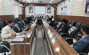 نشست مدیر سازمان دانشآموزی سیستان و بلوچستان با نمایندگان مجلس استانی قطب چابهار