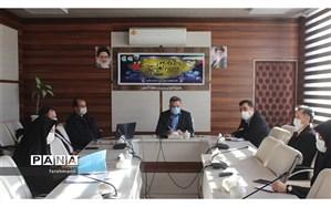 برگزاری جلسه مدیریت فوریت های اجتماعی - روانی دانش آموزان در اداره آموزش و پرورش منطقه 19