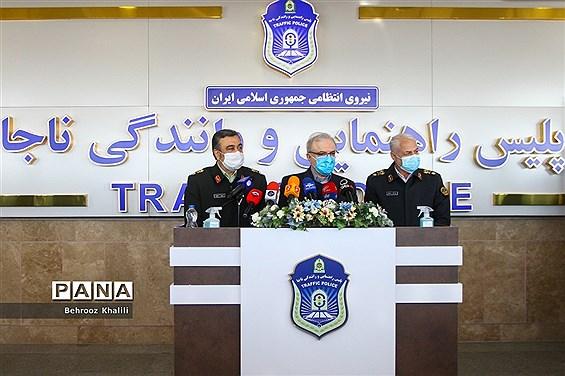 بازدید وزیر بهداشت و فرمانده ناجا از پلیس راهور