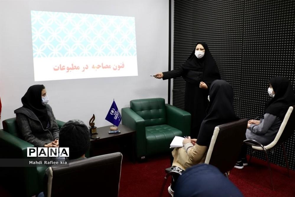 برگزاری دومین روز دوره آموزش خبرنگاران دختر خبرگزاری پانا در تبریز
