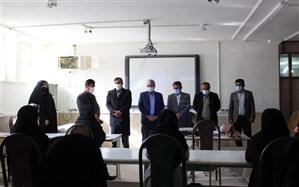 حضور معاون پشتیبانی آموزش و پرورش کهگیلویه وبویراحمد در جلسه دوم دوره آموزشی خبرنگاری دانشآموزان