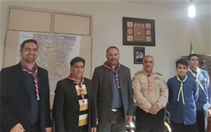 جلسه هیئت رئیسه مجمع مربیان به همراه دانش آموزان پیشتازناحیه دو شهر ری