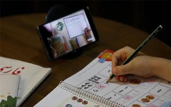 پای حرف های دانش آموزان کلاس های مجازی