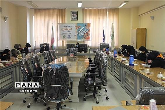 آخرین روز دوره آموزش خبرنگاری ویژه دانش آموزان دختر