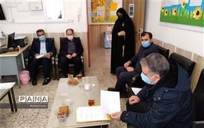 بازدید از مدارس سراسر استان با حضور نماینده وزارت