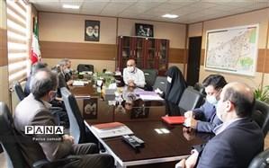 بازدید بازرسان وزارتخانه و اداره کل متبوع از مدارس آموزش و پرورش منطقه ۱۳ تهران