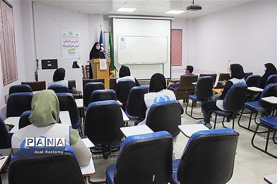 دومین روز برگزاری دوره آموزش خبرنگاران دختر پانا بوشهر