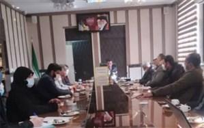 نشست اعضای شورای بسیج فرهنگیان ناحیه دو شهر ری