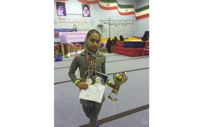 دانش آموز افتخار آفرین ناحیه۶ مشهد