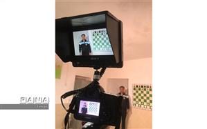 ضبط برنامه مدرسه تلویزیونی ایران در هنرستان شهید قدوسی منطقه ۱۱ تهران