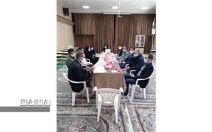 دومین جلسه تخصصی وکارگروهی معاونین همیار پرورشی در دبستان قرانی حضرت مهدی( عج) برگزار شد 