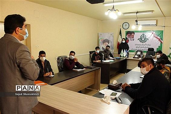 بازدید معاون پرورشی و فرهنگی از دومین روز دوره آموزشی خبرنگاران  پسر پانا خوزستان