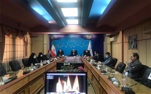 آیین افتتاحیه دهمین دوره مجلس دانشآموزی  همزمان با سراسر کشور،  در گیلان برگزار شد