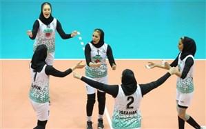لیگ برتر والیبال زنان؛ ذوب آهن نایب قهرمانی را جشن گرفت