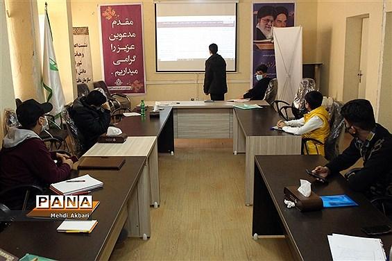 جلسه پایان دوره آموزشی خبرنگار پسر پانا خوزستان