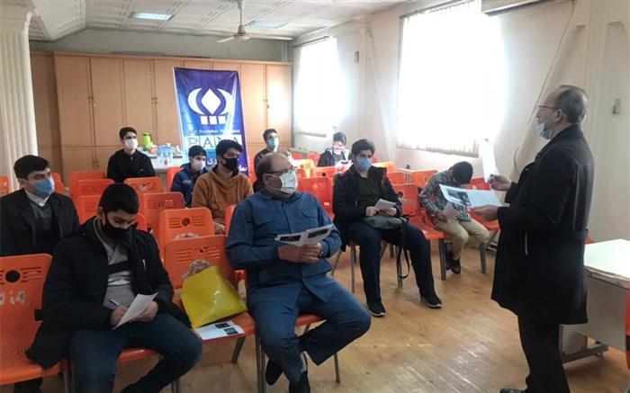 دوره آموزشی خبرنگاری پانا  همزمان  با سراسر استانها