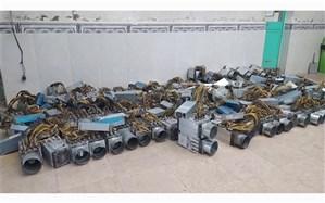 کشف 121 دستگاه ماینر قاچاق در صوفیان