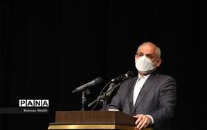 سخنرانی وزیر آموزش و پرورش در مراسم افتتاحیه دهمین دوره مجلس دانش آموزی/فیلم